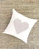 Athena Bacon Pillowcase Decor Cover for Mom Scripture Bible Verses Red Heart Love Gift Scripture Print Christian Decor Gift for Grandma