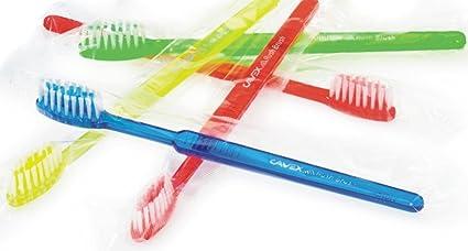 Cavex Rush desechables cepillo cepillo de dientes de viaje con pre-impregnated pasta de dientes