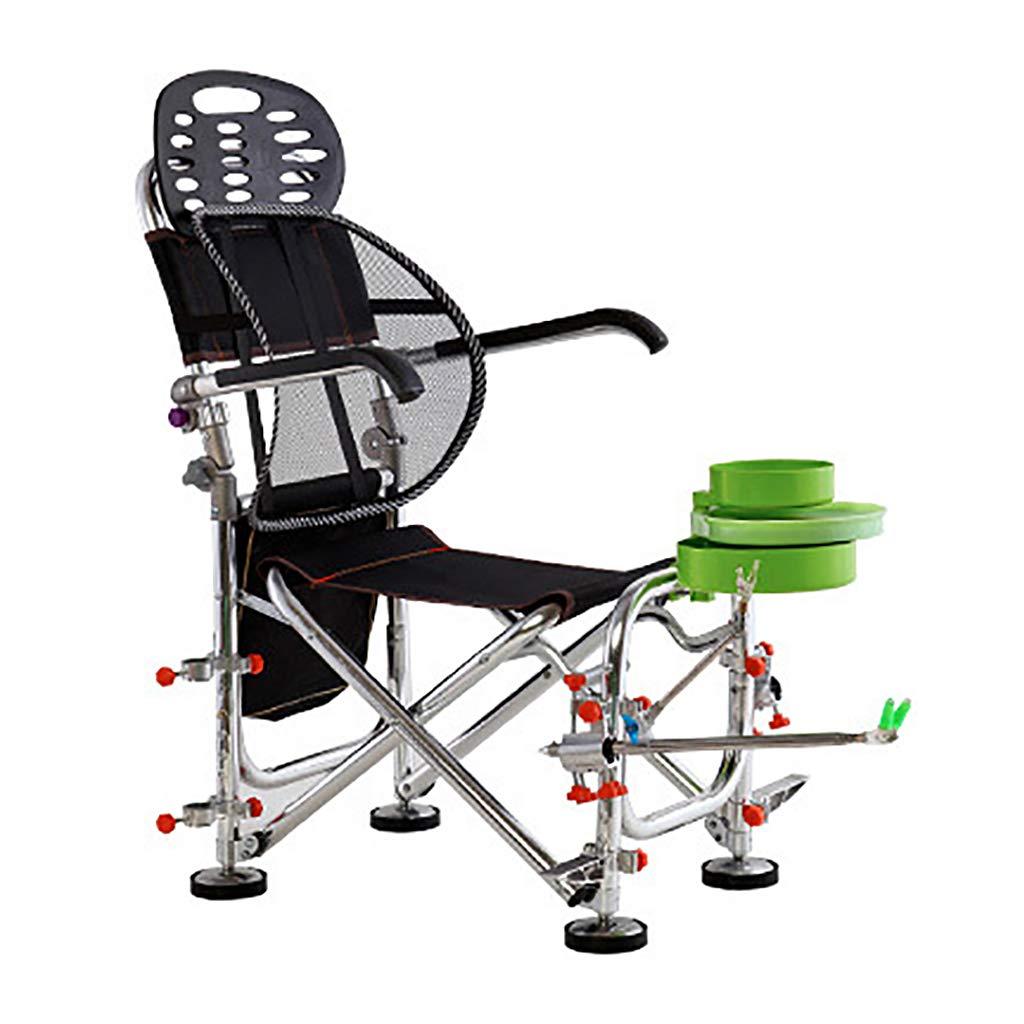 折りたたみ釣り椅子コンパクトポータブル屋外椅子キャリーバッグキャンプチェアウルトラライトガーデンチェアアルミ釣りギア Package H  B07PBYR75M