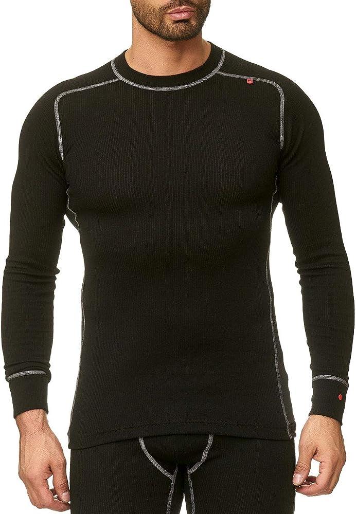 Odin Wear - Camiseta térmica - para Hombre Negro XS: Amazon.es: Ropa y accesorios