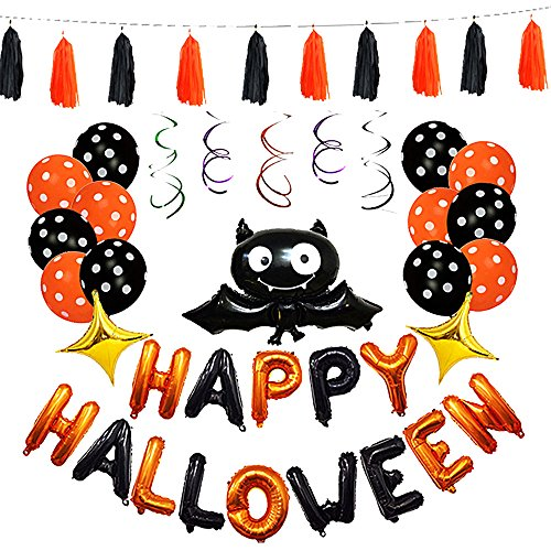 Halloween Inflatable Balloon (Multi-Colored, 2 Set)