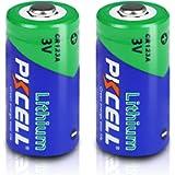 CR123A DL123A CR17335 1500mAh 3V Lithium Photo Battery (2pcs)