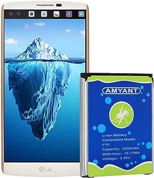 Amyant BL-45B1F - Batería de Repuesto para LG V10 Stylo 2, RS987 ...