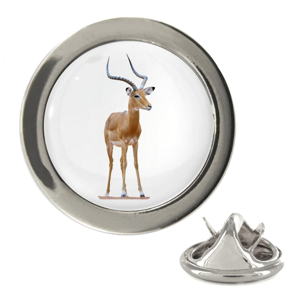 Impala Image Metal 20mm Lapel Pin