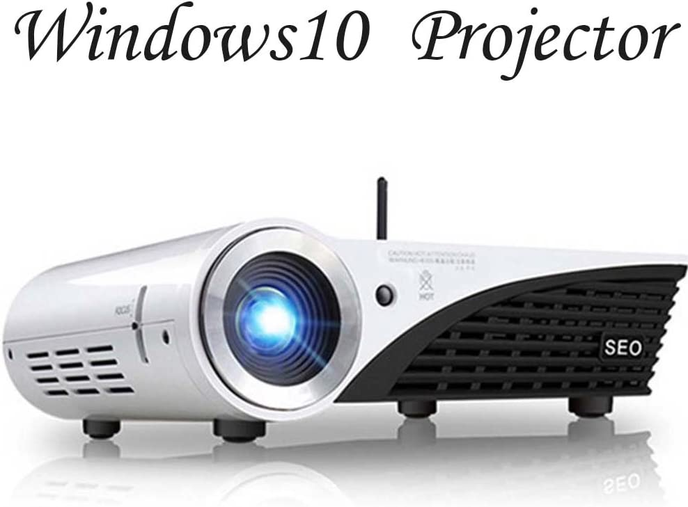 Windows 10 DLP proyector 3d 4 K vídeo HD Beamer 2000 Lumens ...