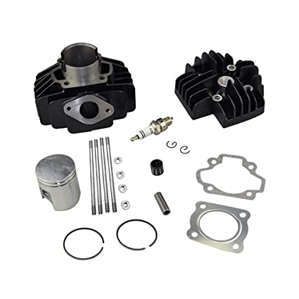 FLYPIG 60CC BIG BORE KIT CYLINDER PISTON GASKET HEAD TOP END SET FOR YAMAHA  PW50 1981-2009