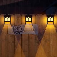 Deals on 6PK SUNFACE Solar Deck Lights Led Decorative Wall Mount