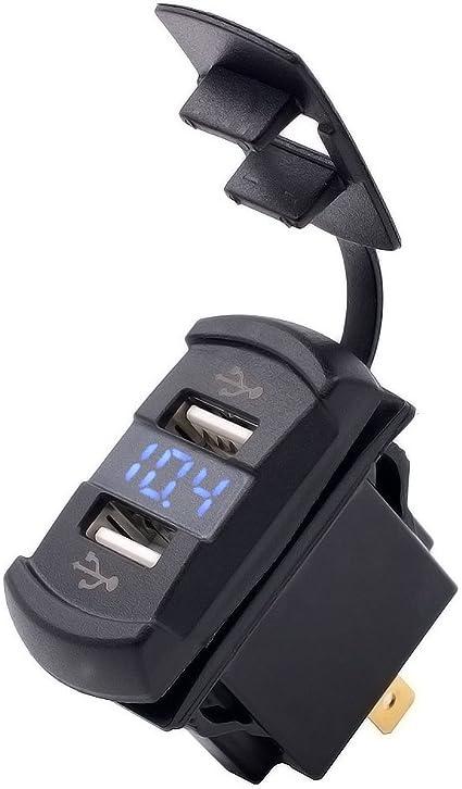 12V Cargador De Enchufe de Mechero de Coche Adaptador de corriente para coche camión embarcación TR