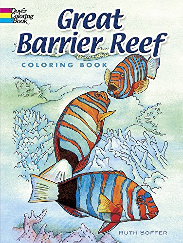 Great Barrier Reef Coloring Book (Dover Nature Coloring (Cheap Novelties)