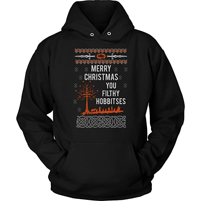Lord Of The Rings Christmas Jumper.Amazon Com Merry Christmas You Filthy Hobbitses Lord Of The