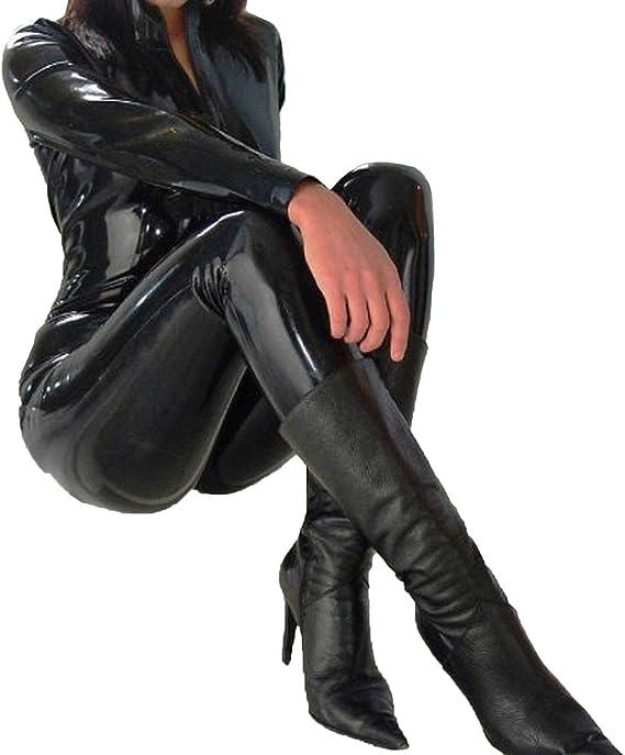 Forever Young - Disfraz de Catwoman de plástico PVC: Amazon.es ...