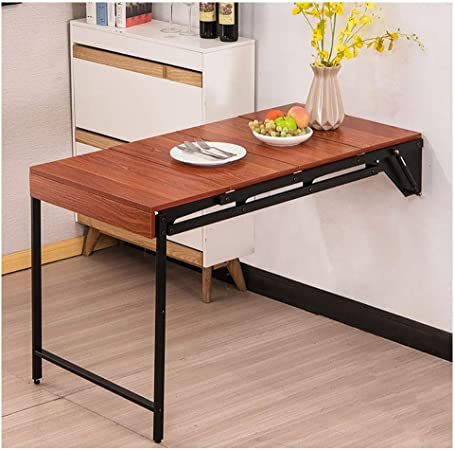 Wyq Table Escamotable Cuisine Montage Mural Table De Lavage Mur En Bois Sur Table Construction Stable Robuste Bureaux Mur For Les Petits Espaces Facile A Installer Table For Salle De Lavage Amazon Fr