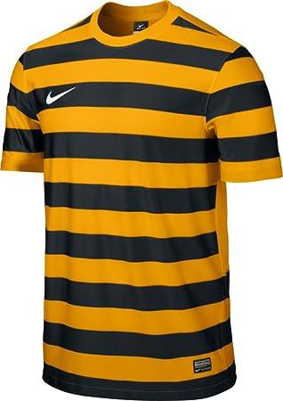 Nike SS Hoop III Game Camiseta de Fútbol de Manga Corta, Hombre, Oro Universitario