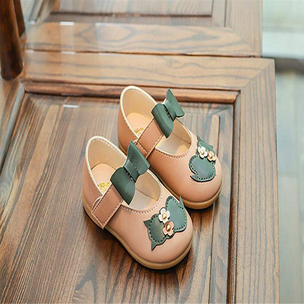 FORTUN Kids Cute Flat Shoes Casual Shoes Princess Shoes Classic Loafers