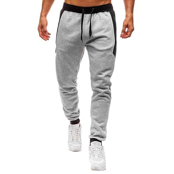 YanHoo Pantalones Deportivos de Estiramiento Casual para Hombres ...