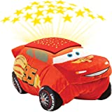 Disney Pixar Cars Pillow Pets - Cars 3 Lightning McQueen Dream Lites Stuffed Animal Night Light