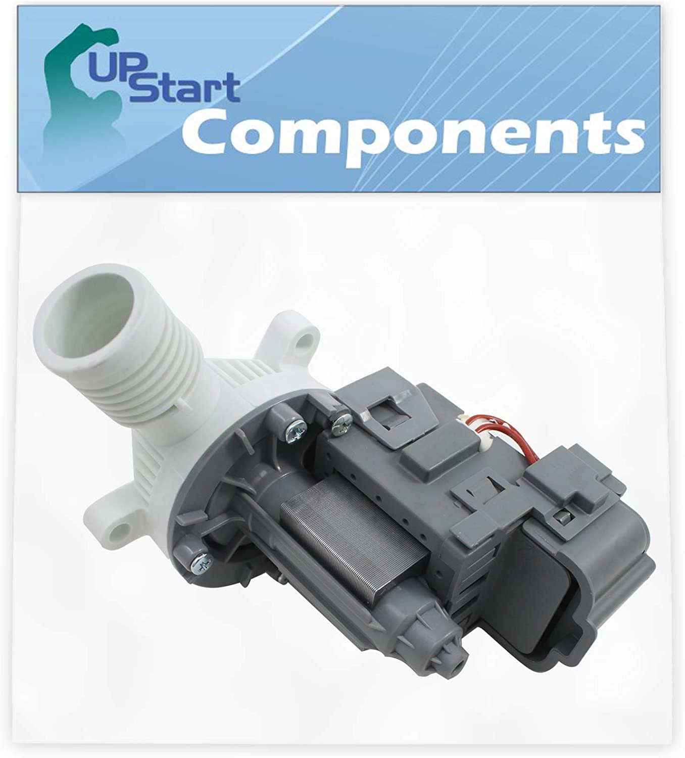 W10276397 Washer Drain Pump Replacement for Whirlpool WTW4800XQ2 - Compatible with WPW10276397 Washing Machine Water Pump
