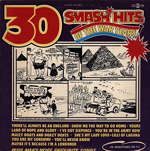 - Band Of Her Majesty's Guards Division and Chorus, The - 30 Smash Hits Of The War Years - Windmill Records - SAN 5001 - Canada - - Near Mint (NM or M-)/Near Mint (NM or M-) - LP