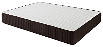 Dormio Esmeralda - Colchón ViscoSoft reversible, 120 x 200 x 24 cm, color blanco (Todas las medidas)