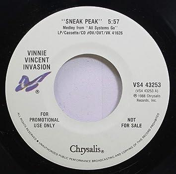 Vinnie Vincent Invasion - Vinnie Vincent Invasion 45 RPM