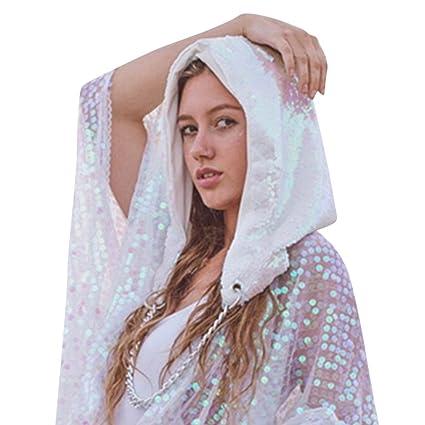 ad90b1229999bb Amazon.com: Sequin Sun Cap, Sttech1 Fashion Women Ladies Halloween ...