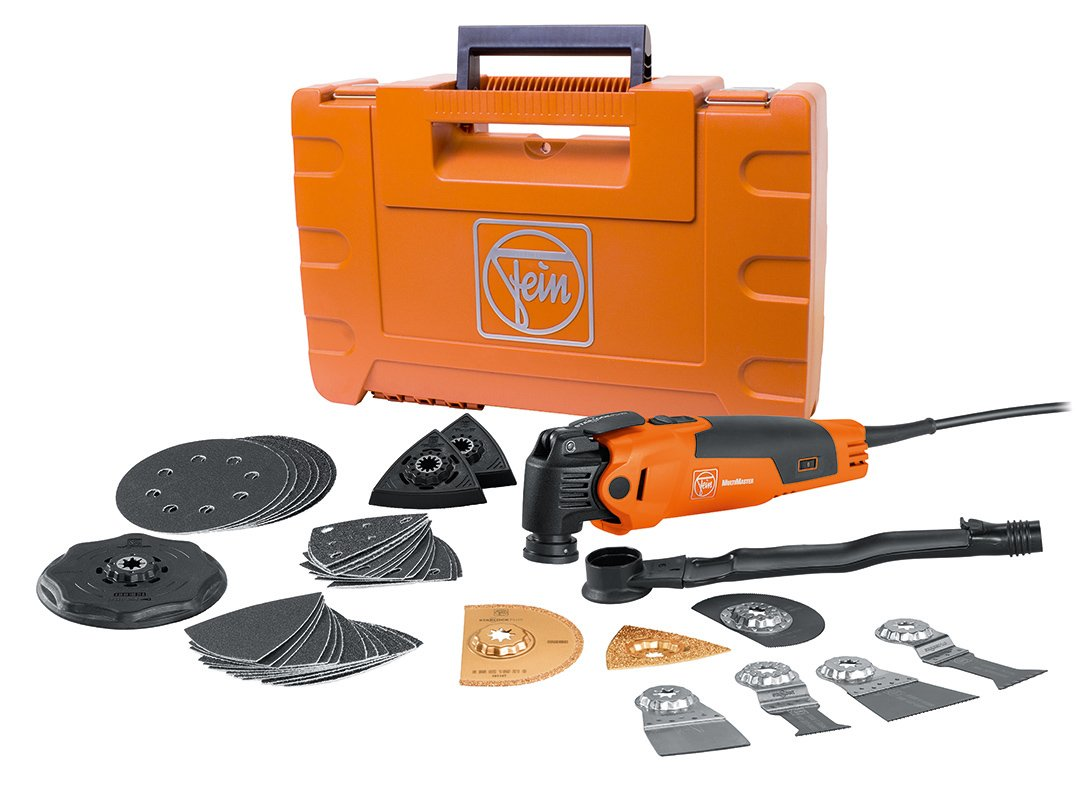 FEIN FMM350QSL MultiMaster Top StarlockPlus Oscillating Multi-Tool with snap-fit accessory change