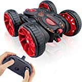Remote Control Stunt Car, RC Car Toy All Terrain Off Road 4WD Double Sided Running, 360° Rotation & Flips Remote Control…