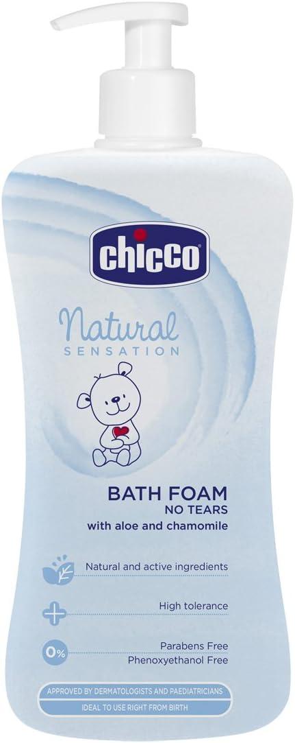Chicco Natural Sensation - Gel de baño sin lágrimas 750 ml