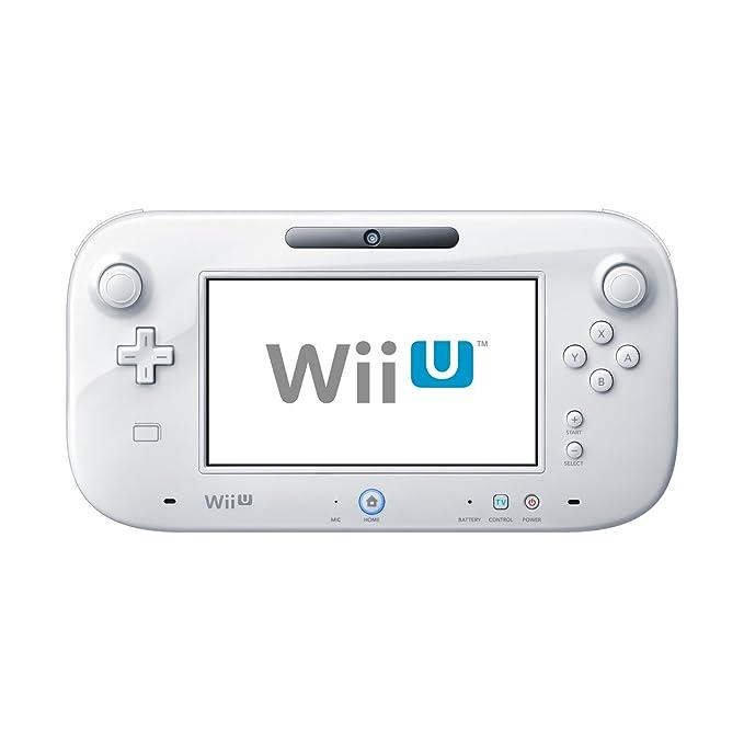 Nintendo Wii U GamePad color blanco: Amazon.es: Electrónica