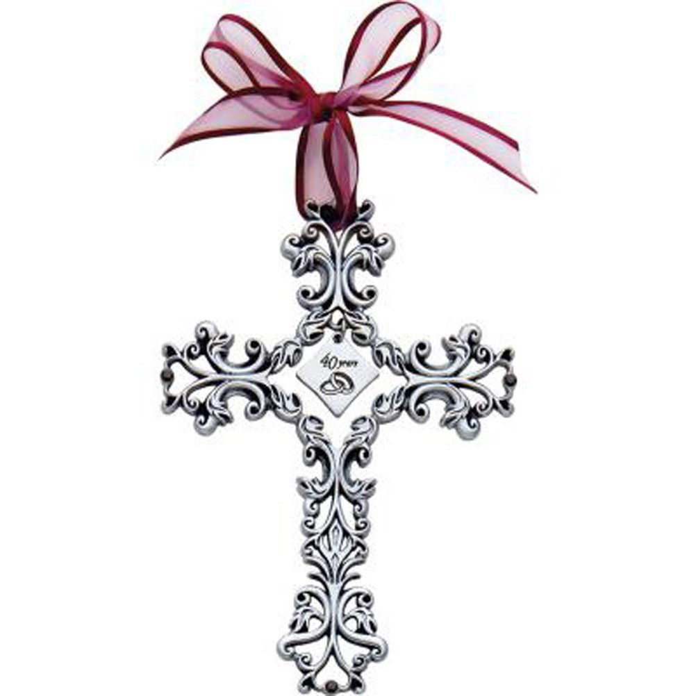 Amazon 40th Anniversary Cross Ornament Beautiful