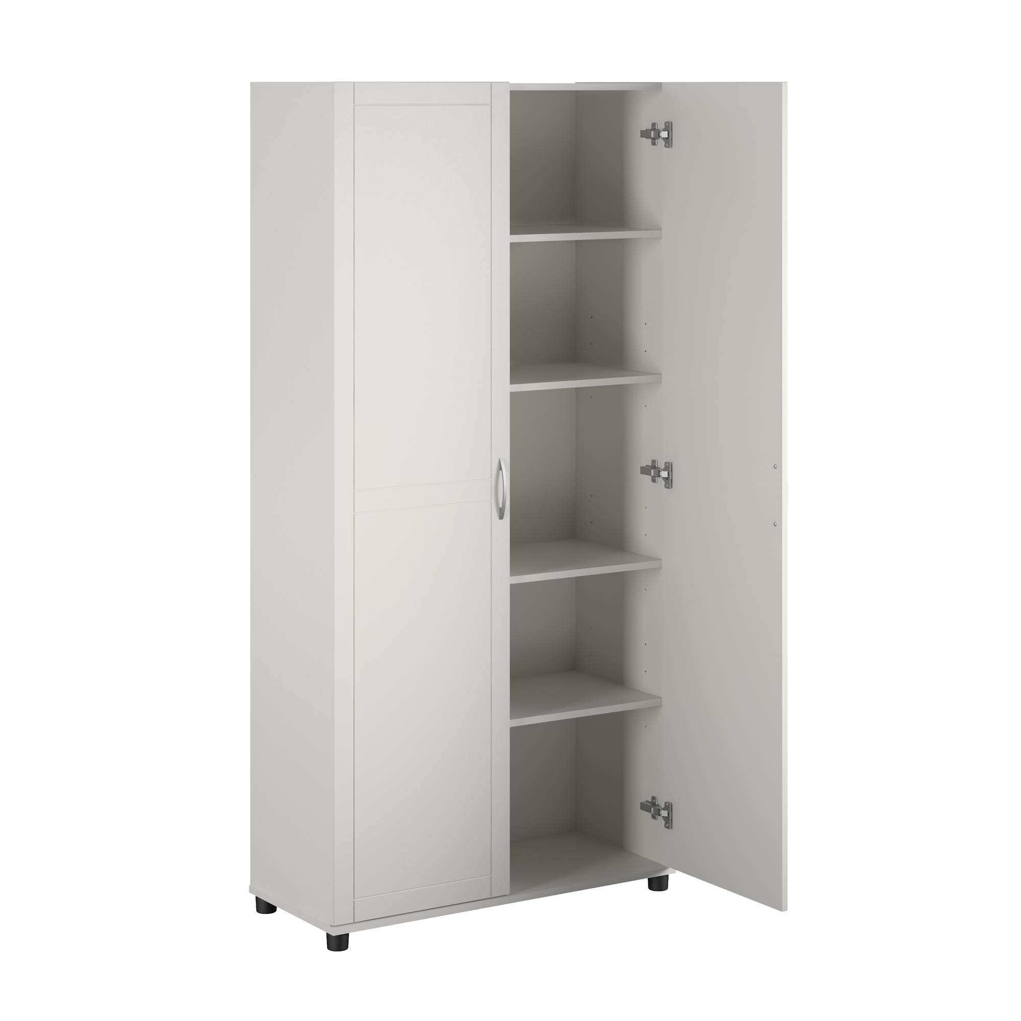 SystemBuild Callahan Storage Cabinet 36'' White by SystemBuild
