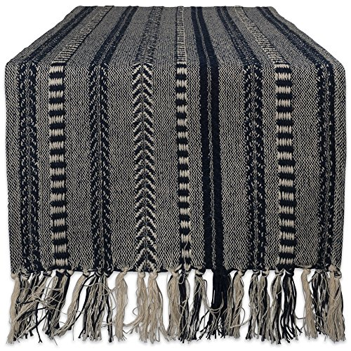 - DII Braided Cotton Table Runner Perfect for Summer, Holiday Parties and Everyday Use, 15x108