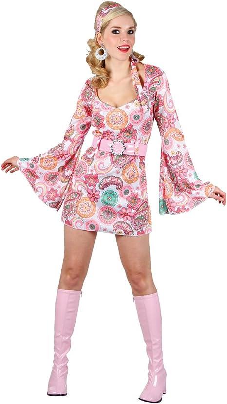 Wicked - Disfraz de chica retro para mujer, talla M (EF-2114. M ...