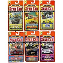 Star Cars Matchbox Series 1 Collection Complete 6 Car Set, Grease, Brady Bunch, Taxi, Happy Days, MASH, Mission Impossible by Matchbox