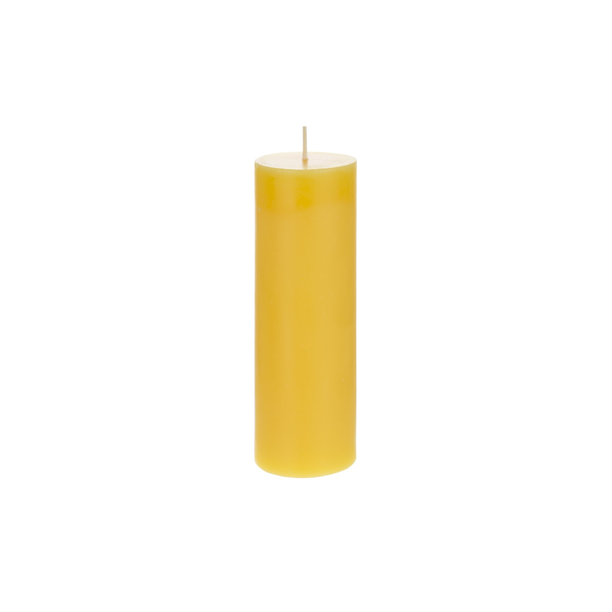 Mega Candles 3 pcs Citronella Round Pillar Candle | Hand Poured Paraffin Wax Candles 2'' x 6'' | Bug Repellent Candles For Indoor And Outdoor Use | Everyday Candles For Mosquitoes And Insects by Mega Candles (Image #3)