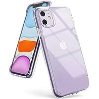 Ringke Coque Compatible avec iPhone 11, [Fusion] Transparente Légère Clair PC Back TPU Bumper Étui Anti-Choc Protection [Technologie Anti-Adhérence] pour Coque iPhone 11 - Clair (Clear)