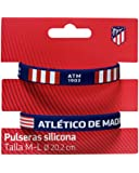 Set 2 Pulseras Silicona Atletico Madrid Adulto