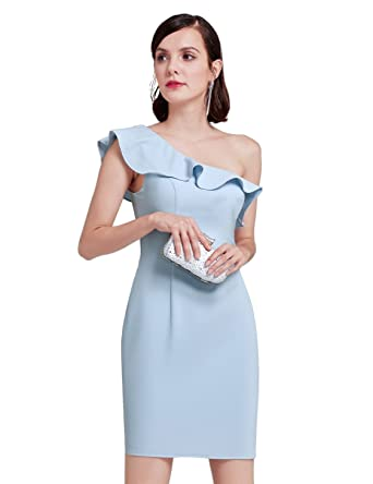 One Sleeve Wedding Guest Dresses