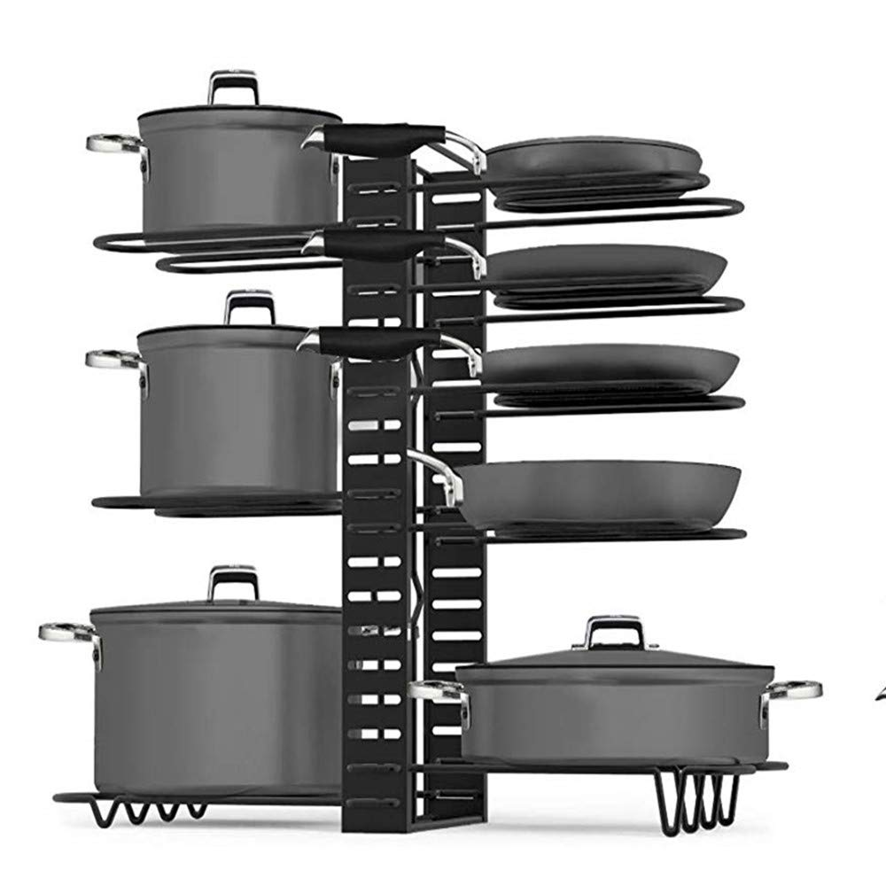 Pots and pans organizer.