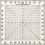 Weems & Plath Marine Navigation Square Protractor (5-I