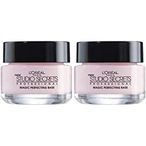 L'Oreal Paris Magic Perfecting Base Face Primer, Instantly Smoothes Lines, Mattifies Skin & Hides Pores, Improves Makeup's Staying Power, Suitable for All Skin Types, Dermatologist Tested, 2 Count