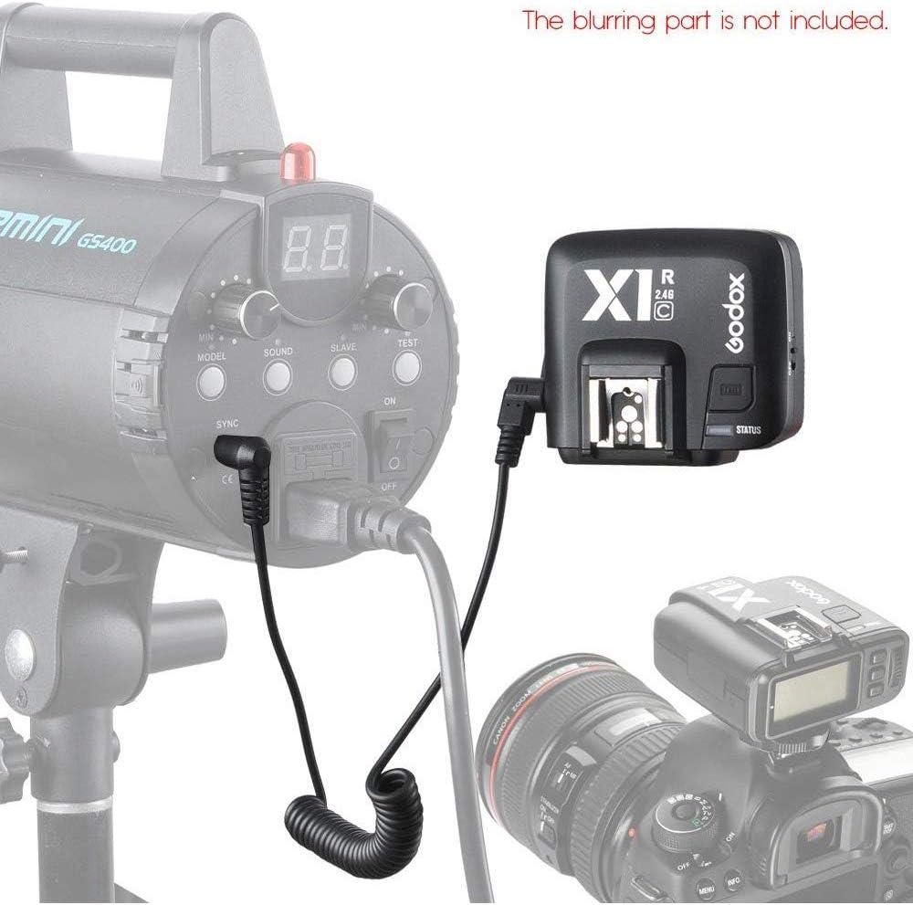 X1R-C Receiver Godox X1R-C TTL Wireless Flash Trigger Receiver for Canon EOS Series Cameras