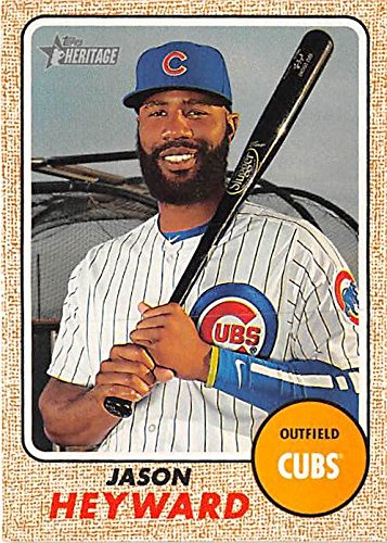 de4dbae2276 Image Unavailable. Image not available for. Color  Jason Heyward baseball  card (Chicago Cubs World Series Champion) ...