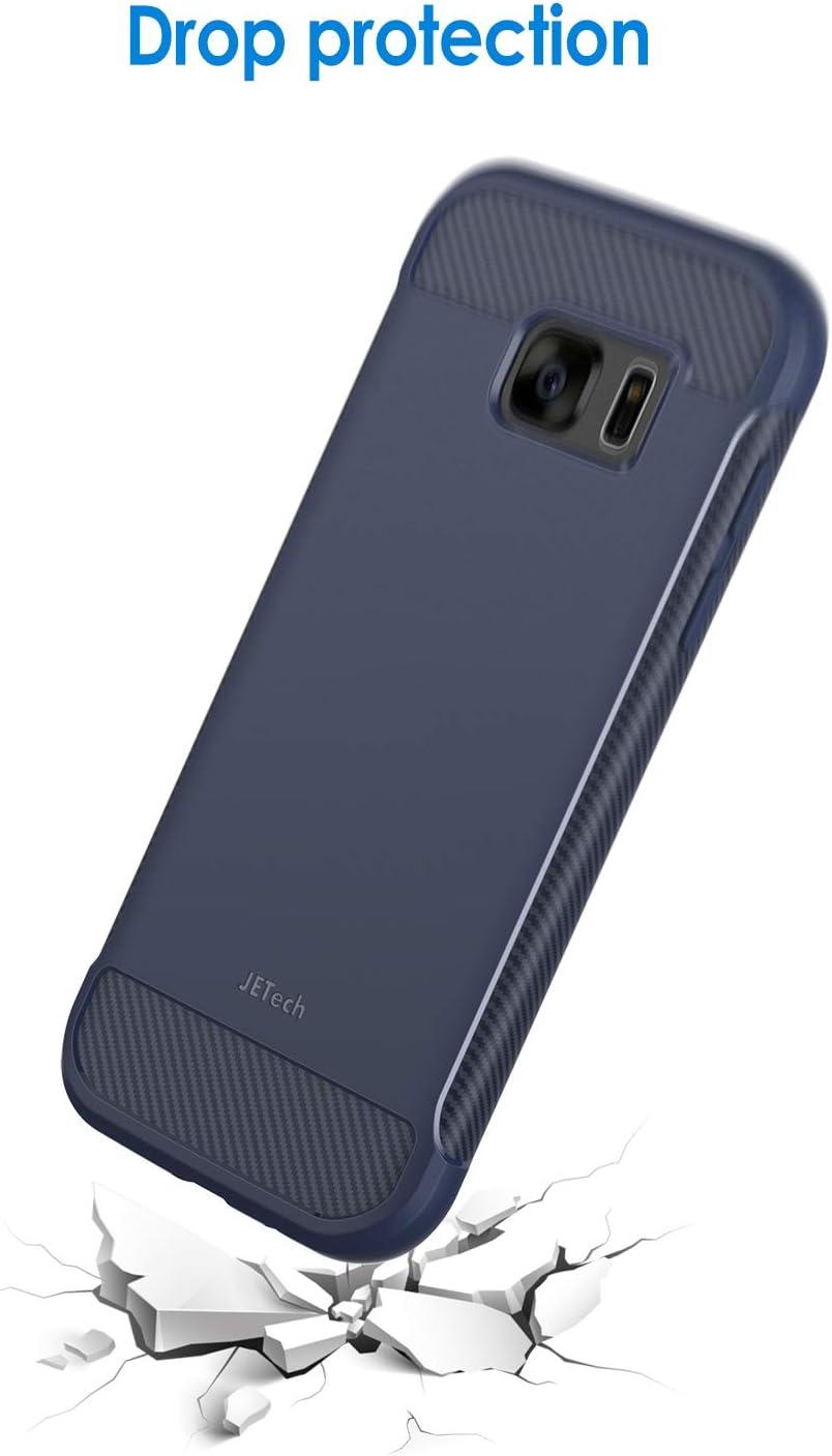 Jetech Coque pour Samsung Galaxy S7 Shock-Absorption et Anti-Rayures Bleu