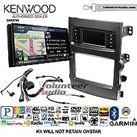 Volunteer Audio Kenwood DNX874S Double Din Radio Install Kit with GPS Navigation Apple CarPlay Android Auto Fits 2013-2017 Chevrolet Malibu