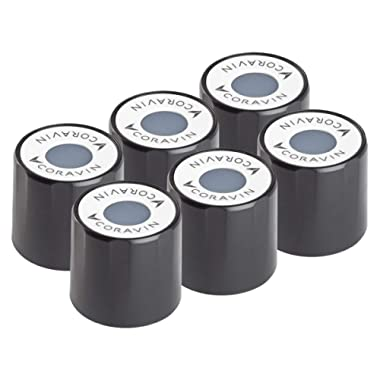 Coravin Wine Preservation System Screw Caps, Pack of 6