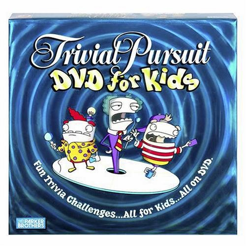 (Hasbro Gaming Trivial Pursuit DVD for Kids)