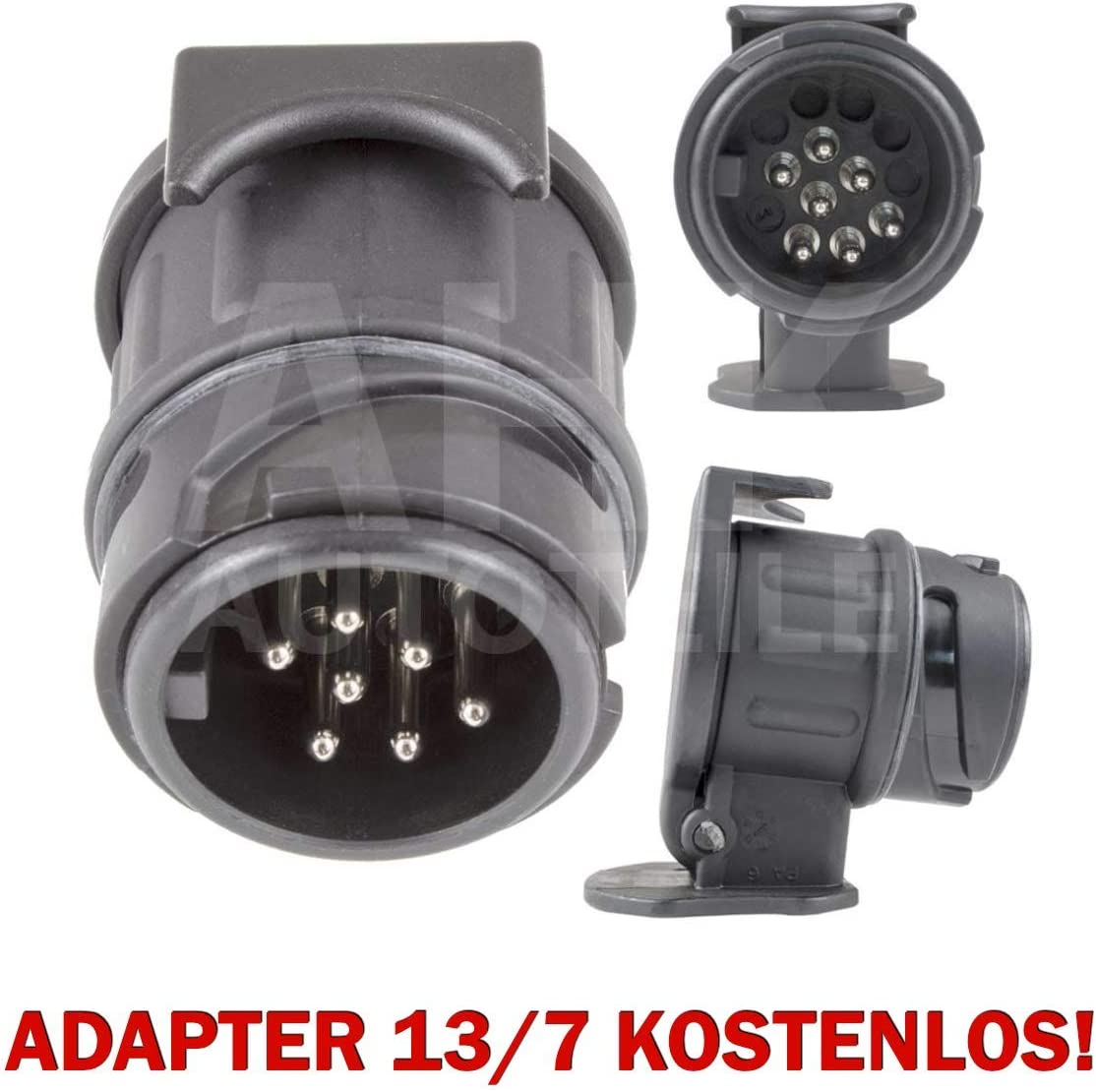 Auto Hak Solide Ahk Abnehmbar Mit Fahrzeugspezifischem E Satz 13 Polig Adapter 13 7 Kostenlos Auto