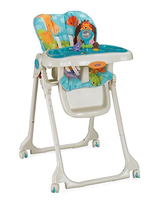 Fisher-Price Precious Planet azul cielo alta silla