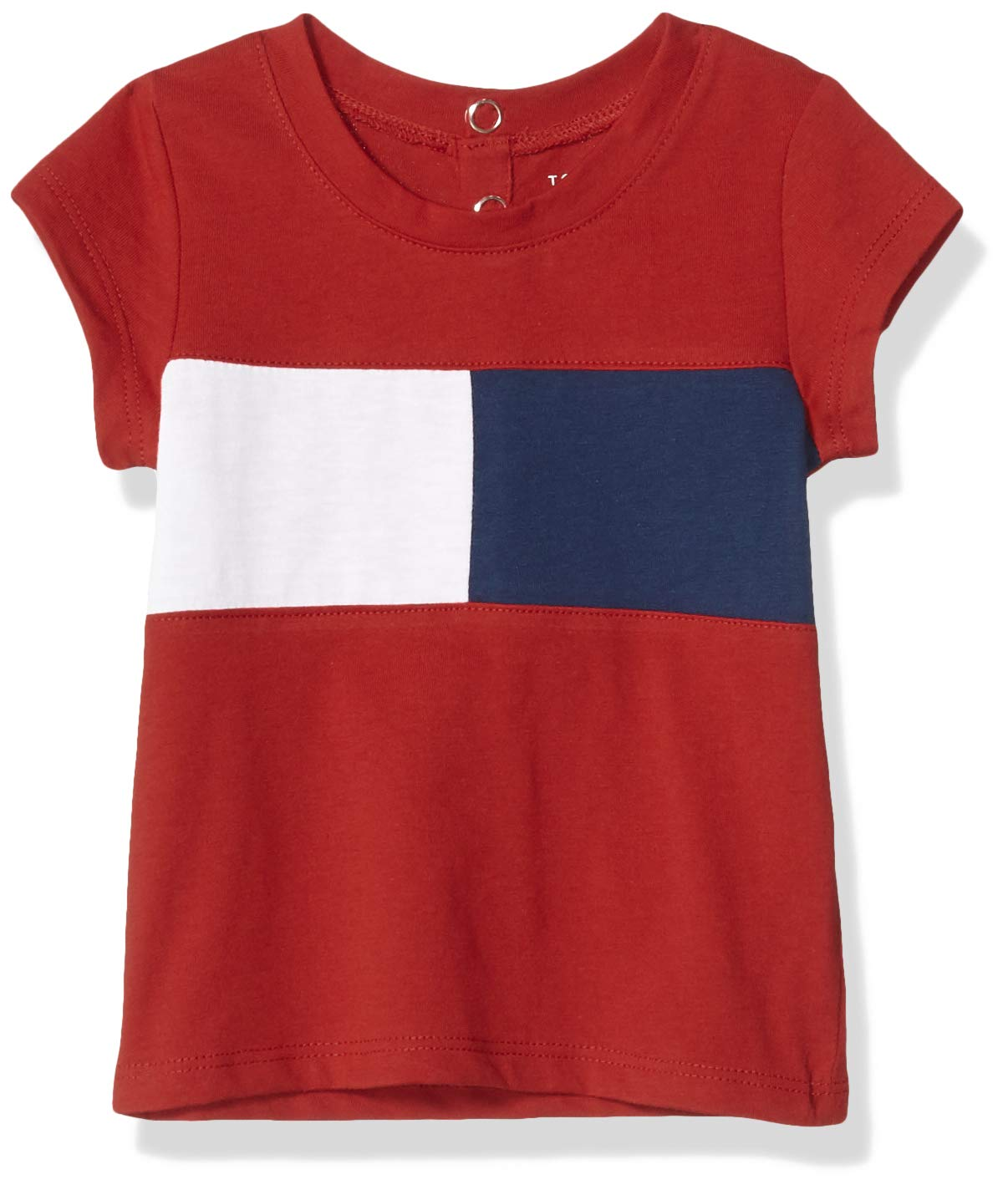 Tommy Hilfiger Girls' Core Short Sleeve Scoop Neck Tee Shirt